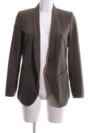 H&M Long-Blazer bronzefarben Business-Look
