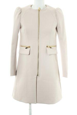 H&M Long-Blazer altrosa-goldfarben Casual-Look