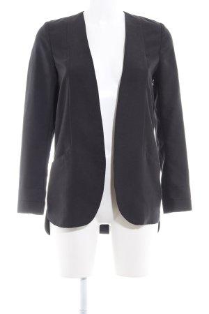 H&M Long-Blazer anthrazit Business-Look