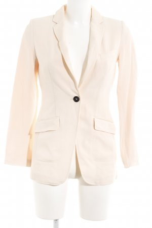 H&M Long-Blazer apricot-lachs Business-Look