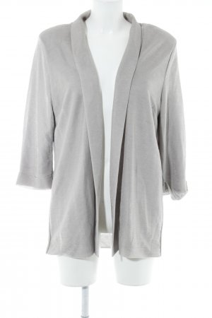 H&M Long-Blazer blasslila Glitzer-Optik