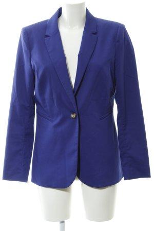 H&M Long-Blazer blauviolett Casual-Look