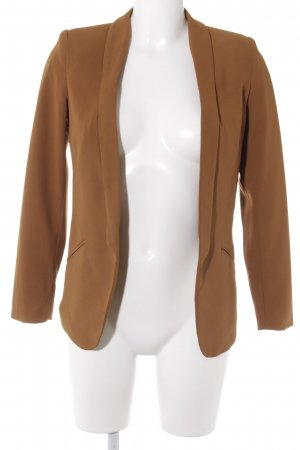 H&M Long-Blazer cognac Casual-Look