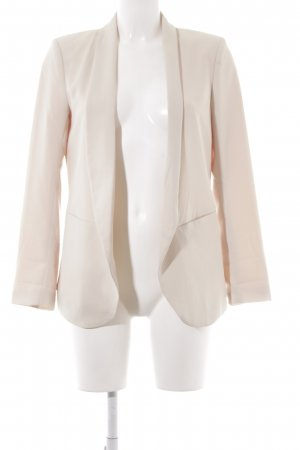 H&M Long-Blazer creme Business-Look