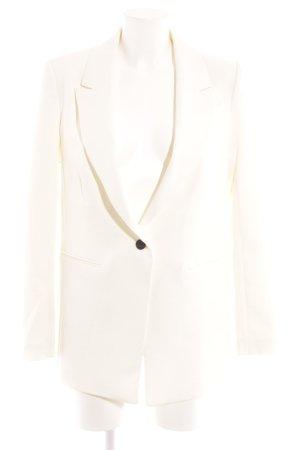 H&M Blazer long crème élégant