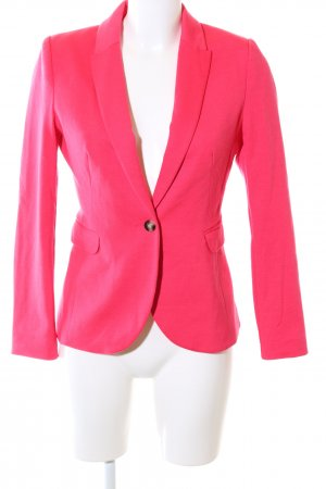 H&M Long-Blazer pink Business-Look
