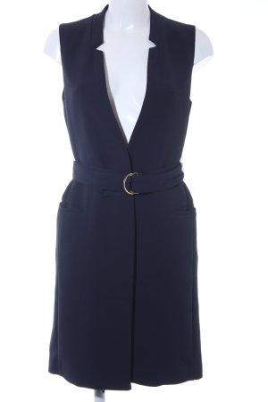 H&M Long-Blazer dunkelblau Elegant