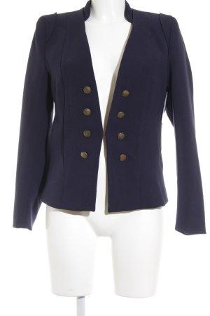 H&M Long-Blazer dunkelblau Marine-Look