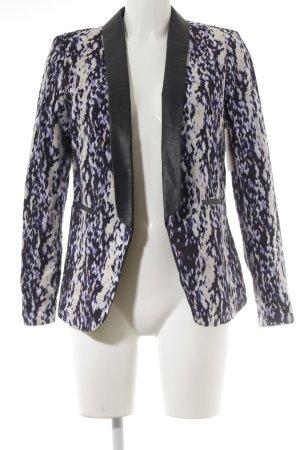 H&M Long-Blazer Farbtupfermuster extravaganter Stil