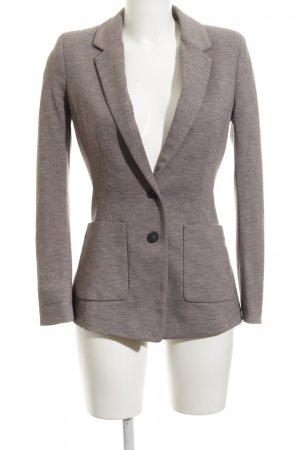 H&M Long-Blazer grau Business-Look