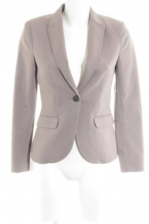 H&M Long-Blazer graubraun Business-Look