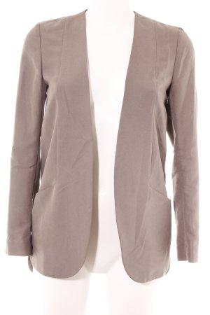 H&M Long-Blazer graubraun Casual-Look