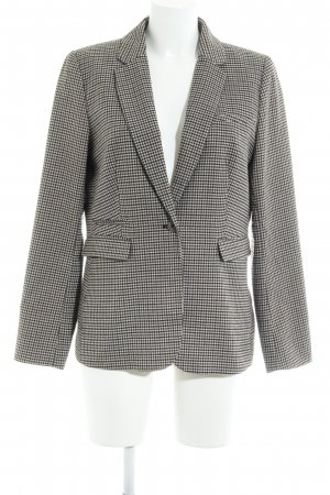 H&M Long-Blazer Hahnentrittmuster Business-Look