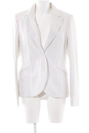 H&M Blazer largo beige claro-albaricoque raya diplomática estilo «business»