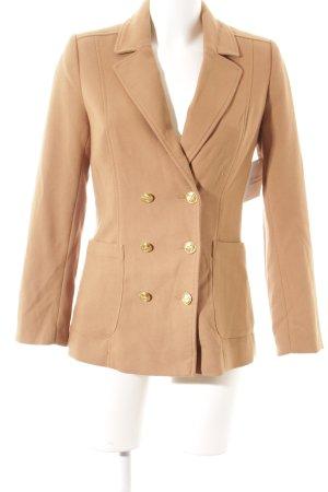 H&M Long-Blazer hellbraun Casual-Look
