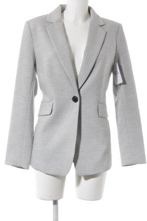 H&M Blazer lungo grigio chiaro stile professionale