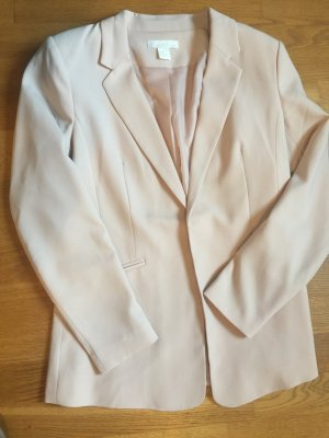 H&M Long-Blazer in rose