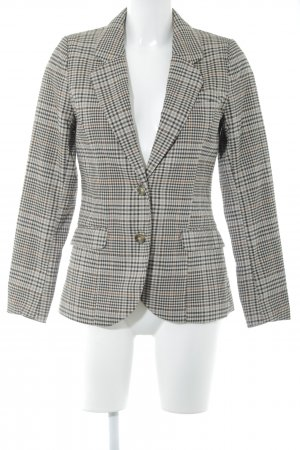 H&M Long-Blazer Karomuster Casual-Look