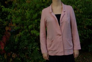 H&M Long-blazer rosa