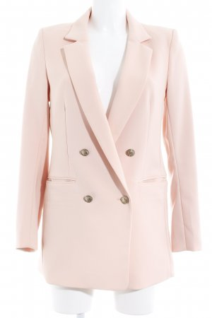 H&M Long-Blazer rosé Business-Look