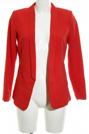 H&M Long Blazer red elegant