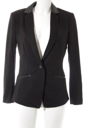 H&M Blazer long noir style décontracté