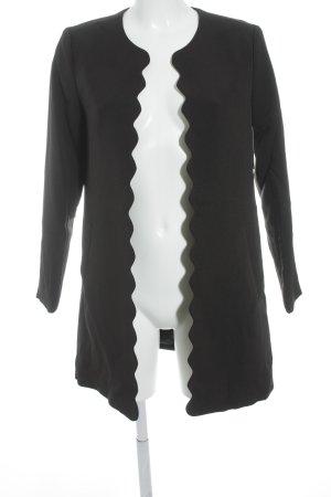 H&M Long Blazer black casual look