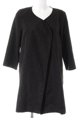 H&M Long-Blazer schwarz Casual-Look