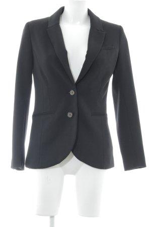 H&M Blazer largo negro elegante