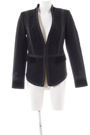 H&M Long-Blazer schwarz Elegant
