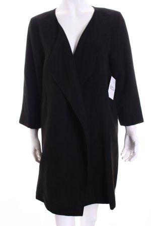 H&M Long-Blazer schwarz Eleganz-Look