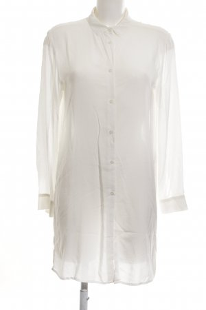 H&M Long-Bluse weiß Casual-Look