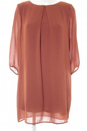 H&M Long-Bluse dunkelorange Casual-Look