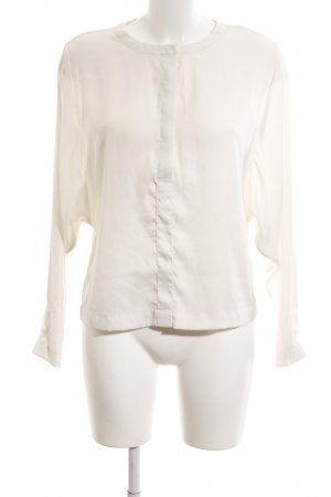H&M Long-Bluse creme Business-Look
