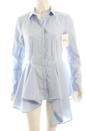 H&M Long-Bluse himmelblau klassischer Stil