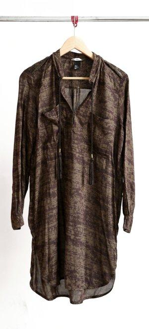 H&M Long- Bluse khaki/braun