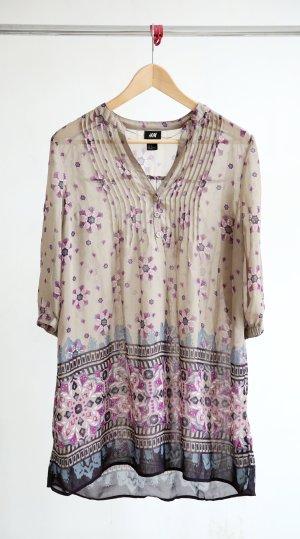H&M Long Bluse - Mandala Muster