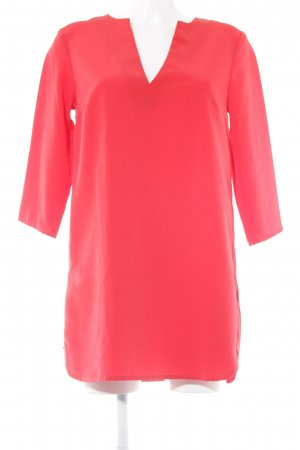 H&M Long-Bluse rot Elegant