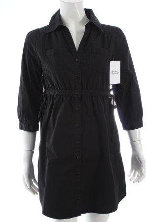 H&M Camicetta lunga nero stile classico