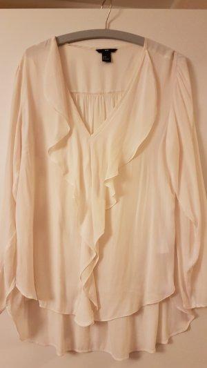 H&M Camicetta lunga crema