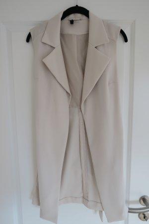 H&M Longcardigan / Blazer ohne Ärmel super edel Gr. 36