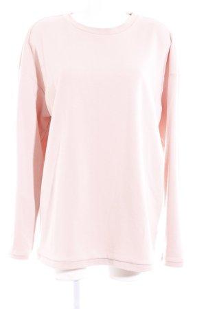 H&M Longpullover altrosa Casual-Look