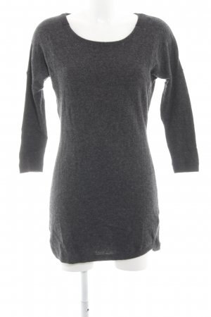 H&M Jersey largo gris oscuro look casual
