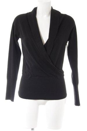 H&M Jersey largo negro look casual