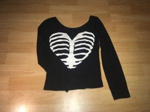 H&M Longsleeve Shirt mit schönem Rückenausschnitt Gr.XS
