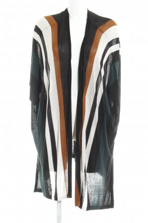 H&M Long Knitted Vest multicolored casual look