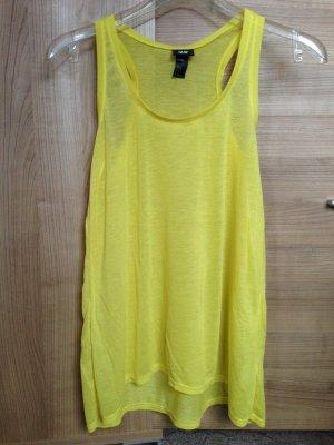 H&M Longtop Gelb Größe XS