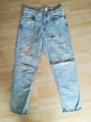 H&M low ripped jeans * Größe W29/L30 * NEU