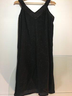 H&M Strandjurk zwart Katoen