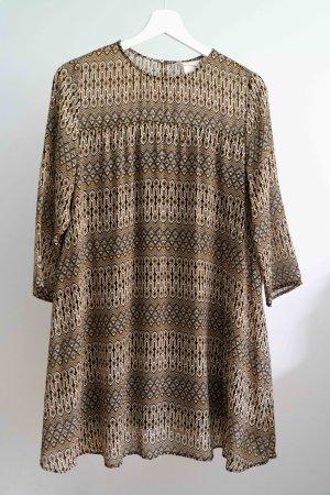 H&M Luftiges Kleid mit Muster